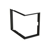 Zástavbový rámček zakrivený Bef krbyonline