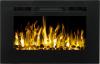 Aflamo Majestic 26 moderný elektrický krb s 3D efektom plameňa krbyonline