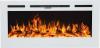 Aflamo Majestic 45 moderný elektrický krb s 3D efektom plameňa biely krbyonline