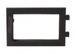 Regency dvere čierne moderné krbyonline