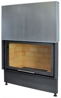 Kobok Chopok VD 1270/450 510 570 teplovzdušná krbová vložka s výsuvnými dvierkami