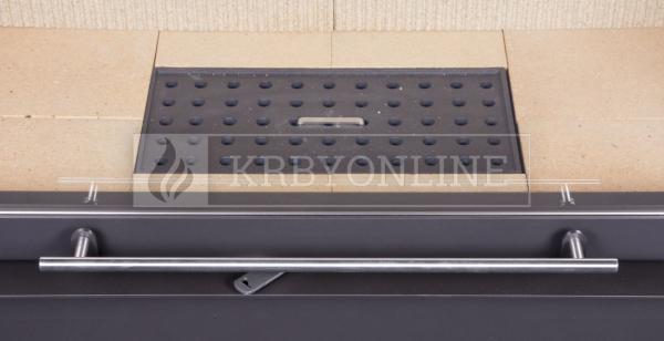 Kobok Chopok 2R90 S/380 VD 755/450 510 570 teplovzdušná trojstranná krbová vložka s výsuvnými dvierkami krbyonline