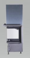 Kobok Chopok 2R90 S/380 VD 925/450 510 570 teplovzdušná trojstranná krbová vložka s výsuvnými dvierkami krbyonline