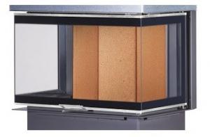 Kobok Chopok 2R90 S/500 - trojstranné presklenie krbyonline