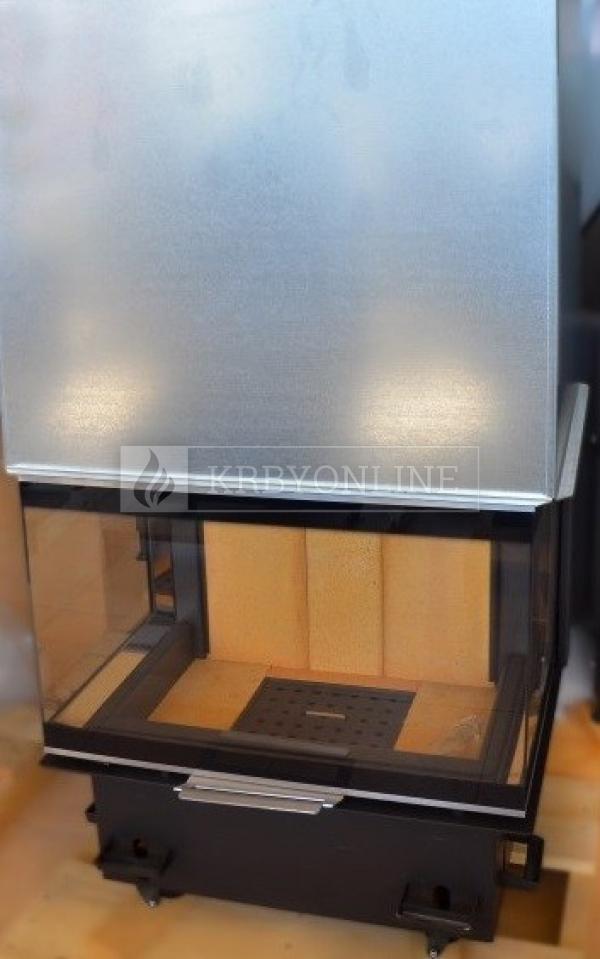 Kobok Chopok 2R90 S/500 VD 805/450 510 570 teplovzdušná trojstranná krbová vložka s výsuvnými dvierkami krbyonline