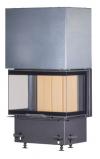 Kobok Chopok 2R90 S/500 VD 925/450 510 570 teplovzdušná trojstranná krbová vložka s výsuvnými dvierkami krbyonline