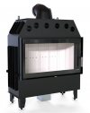 Defro Home Intra LA teplovzdušná krbová vložka s rovným presklením krbyonline