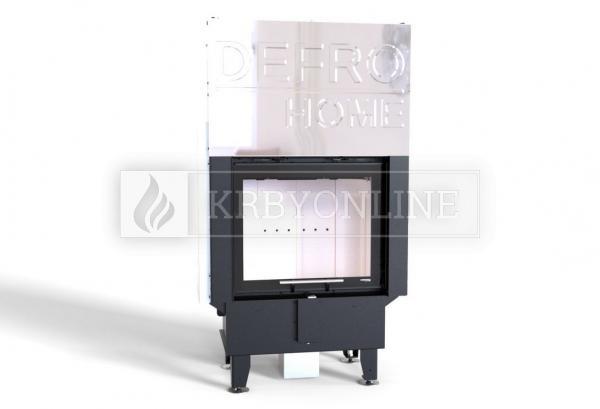 Defro Home Intra SM G teplovzdušná krbová vložka rovná s výsuvným otváraním dvierok krbyonline