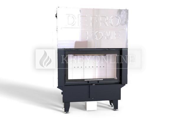 Defro Home Intra SM SLIM G teplovzdušná krbová vložka rovná s výsuvnými dvierkami krbyonline