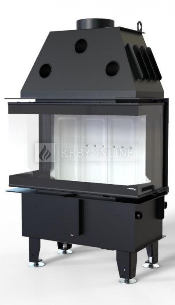 Defro Home Intra SM C teplovzdušná krbová vložka trojstranná krbyonline