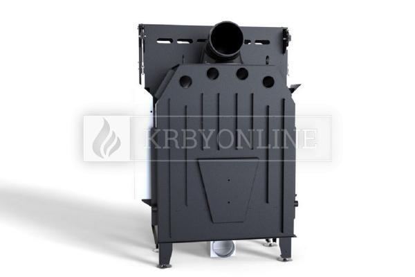 Defro Home Intra ME G teplovzdušná krbová vložka rovná s výsuvným otváraním dvierok krbyonline