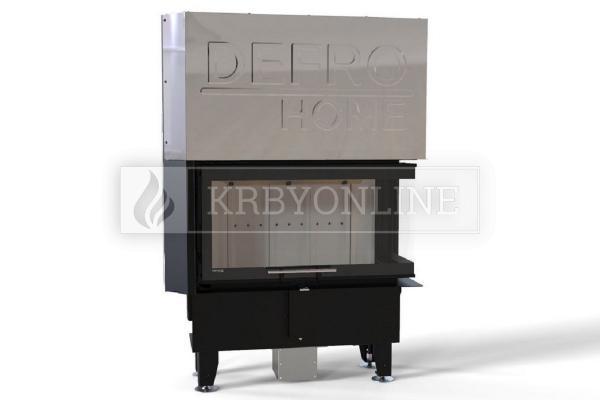 Defro Home Intra ME BP SLIM teplovzdušná krbová vložka pravá rohová krbyonline