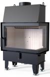 Defro Home IMPULS SM BP teplovzdušná krbová vložka s pravým rohovým presklením krbyonline
