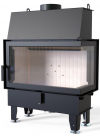 Defro Home IMPULS ME BP teplovzdušná krbová vložka s pravým rohovým presklením krbyonline
