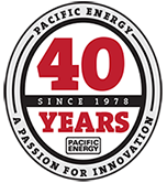Pacific Energy 40 years logo krbyonline