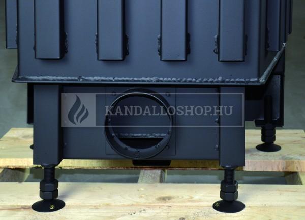 Kobok Chopok R 90 S/330 L 670/500 modern, minőségi, masszív sarki kandallóbetét kandalloshop
