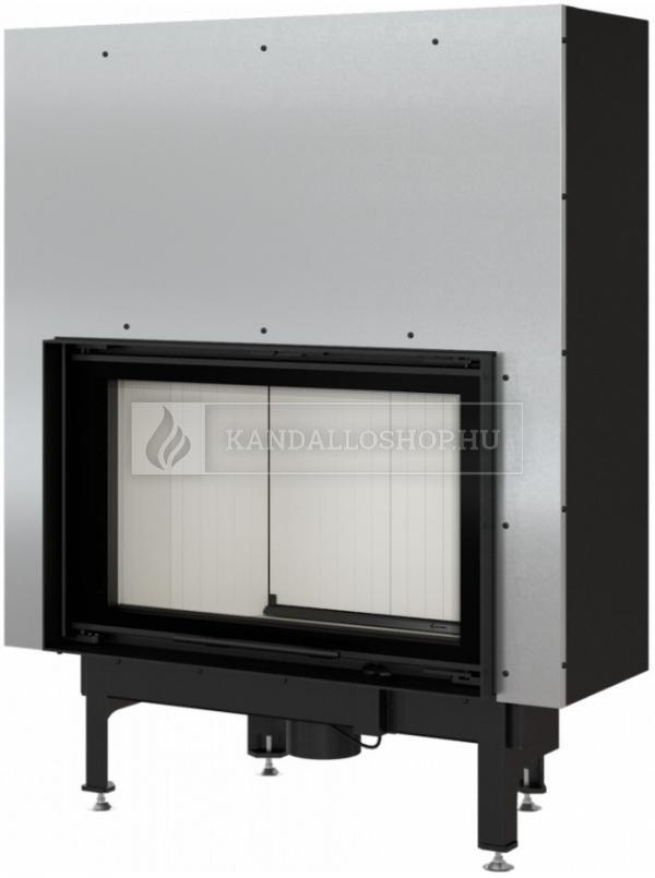 Kratki NADIA 12 G exkluzív sík üvegű légfűtéses kandallóbetét liftes tolóajtóval kandalloshop
