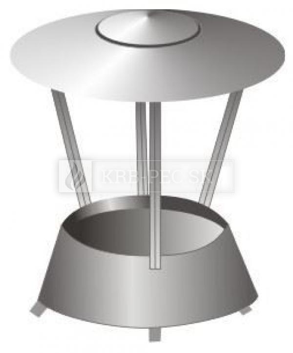 Stadreko 2 prieduchový komín s vatou