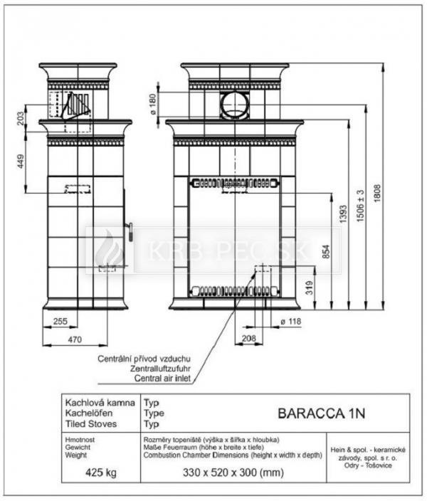 BARACCA 1N