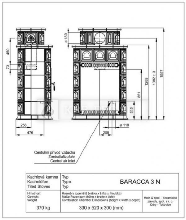 BARACCA 3N