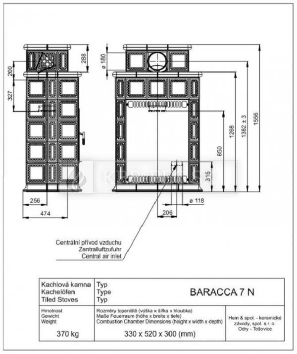 BARACCA 7N