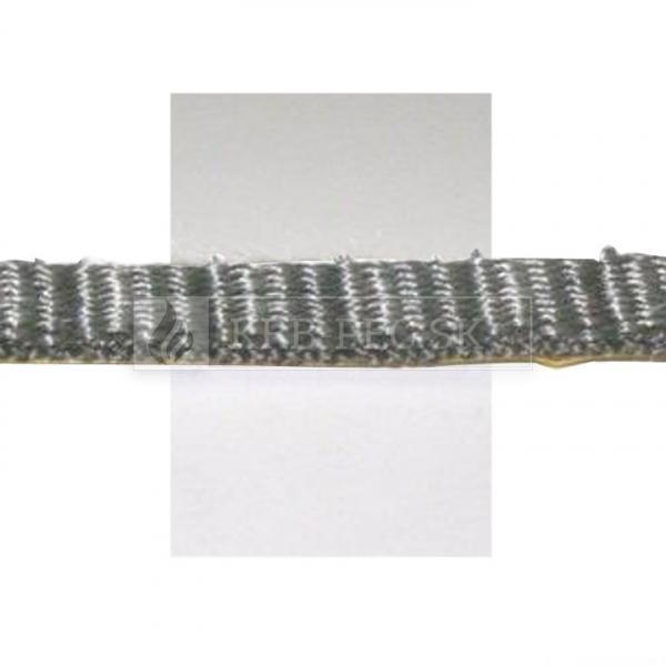 Žiaruvzdorná šnúra plochá 10x3 mm