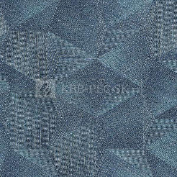 Zambaiti Parati - Trussardi Wall Decor 5 #Z21850 luxusná vliesová tapeta s vinylovým povrchom krb-pec