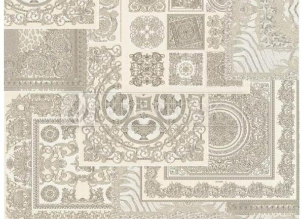 A.S. Création - Versace Wallpaper IV #37048-5 luxusná vliesová tapeta s vinylovým povrchom krb-pec